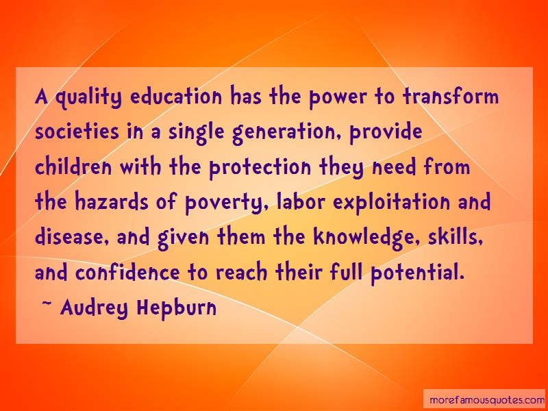 education has the power How should we rebuild the us education system a good education is worth investing in—that has always been if you alone had the power to do.