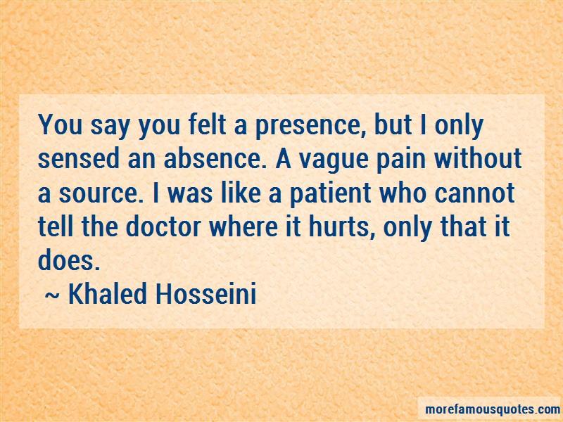 how does hosseini convey a sense